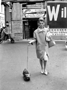 Audrey Hepburn y Mr. Famous